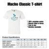 Macho classic - PRODUCT SPEC